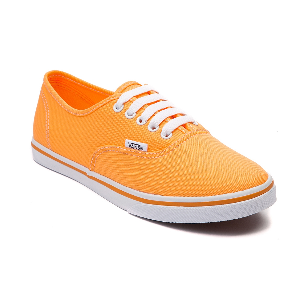 Vans Authentic Lo Pro Skate Shoe, Orange | Journeys Shoes