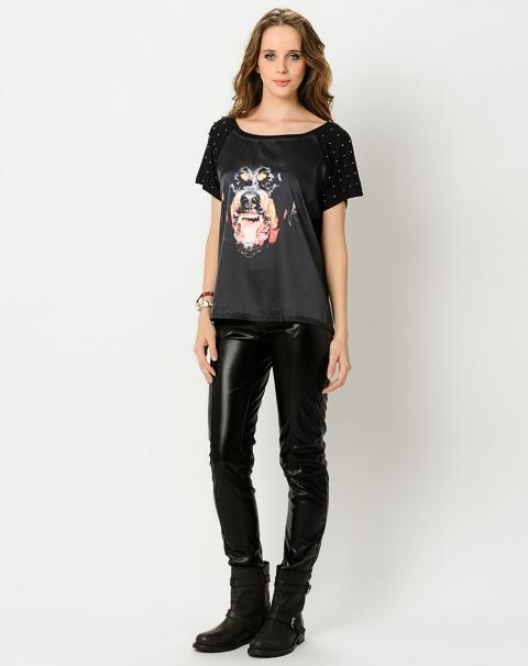 AREMO   T-Shirt Rottweiler Studs