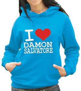 I Love Damon Salvatore - Vampire Diaries Hoody (1069)   eBay