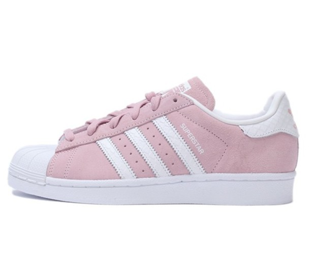 shoes adidas adidas superstars pink