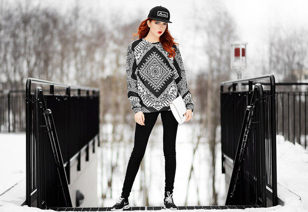 ebba zingmark sweater shoes bag