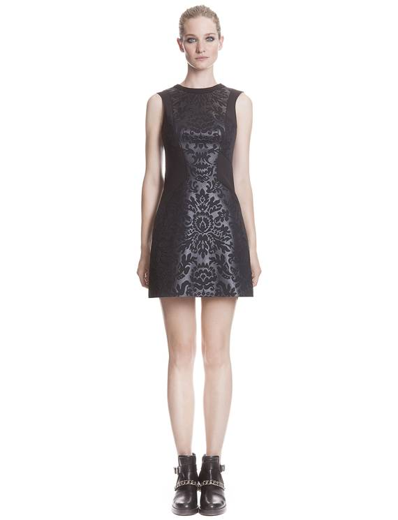 Robe Reine Noir - Robes Sandro - E-Boutique Officielle SANDRO / Collection Printemps-Été 2013 SANDRO