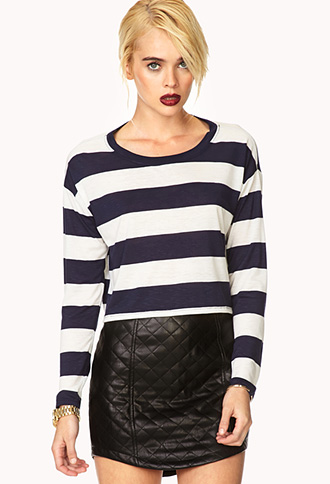 Shore Thing Slub Knit Crop Top | FOREVER21 - 2000090650