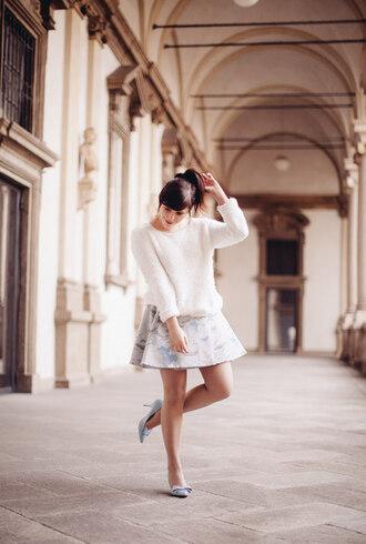 wish wish wish sweater skirt shoes jewels