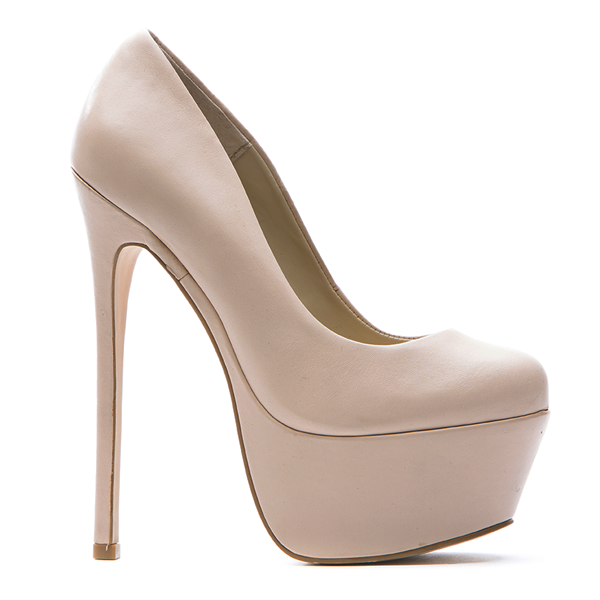 Zigi Girl SPYGLASS Platform Pump in Bisque Nude Leather – FLYJANE