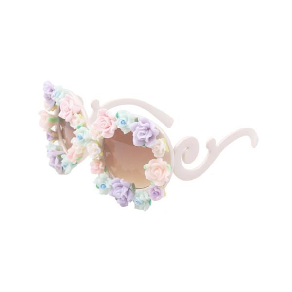 FLOWERS FRAME SUNGLASSES / back order – HolyPink