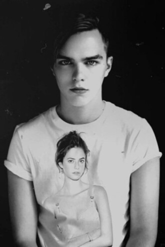 t-shirt effy stonem white classic beautiful hot boy hot girl hit me wild world oh baby giant love black clavicles skins tits cotton grey
