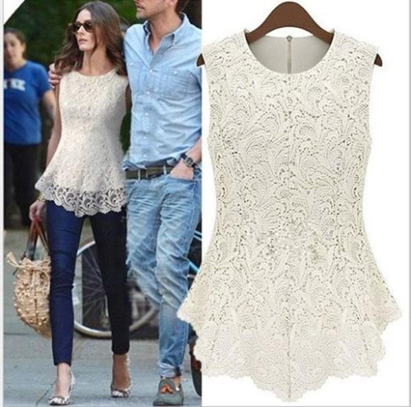 blouse lace shirt