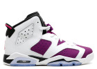 air jordan 6 retro gg (gs) - white/vivid pink-brght grp-blk  | Flight Club