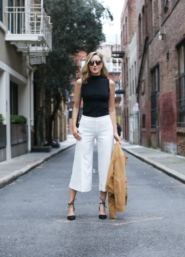 How to Wear Culottes Pants
