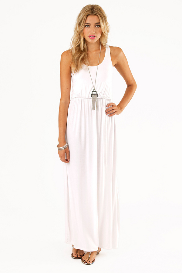 Driving Racerback Maxi Dress - Tobi