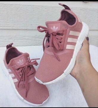 shoes adidas shoes pinkish nude