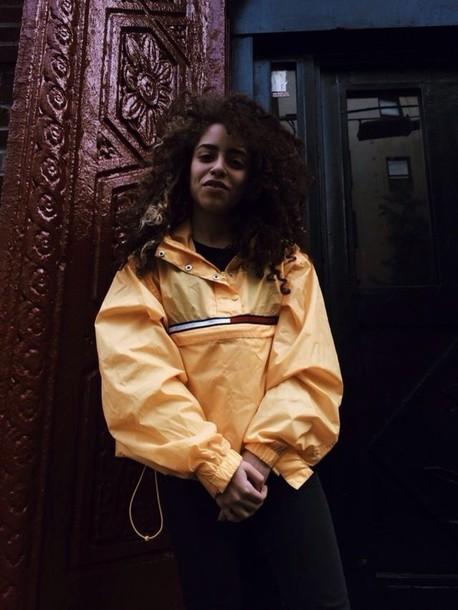 yellow black girls killin it windbreaker lemongrass urban jacket