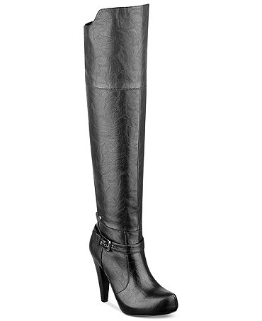 G by GUESS Women's Trinna Over-the-Knee Platform Dress Boots - Shoes - Macy's