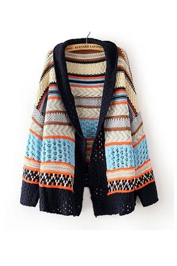 Ethnic Style Irregular Cardigan [FKBJ10277]- US$ 30.59 - PersunMall.com