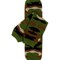 Green camouflage leg warmers  | jax couture events and boutique
