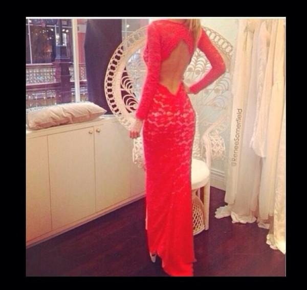 dress prom dress open back cute gorgeous
