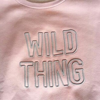 t-shirt pink trendy wild