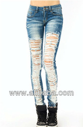 Sweet 2013 Long Ripped Jean - Buy Jean Long Ripped 2013 Sweet Product on Alibaba.com