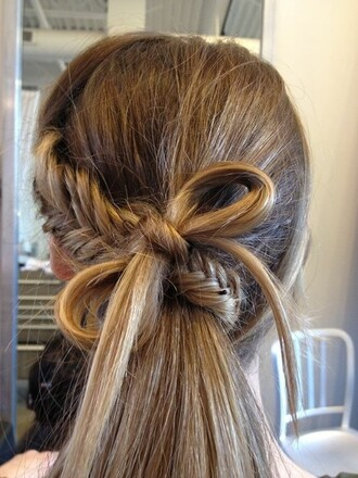 hat hair braid braided fishtail fishtail braid bow hair bow bow braid braid bow