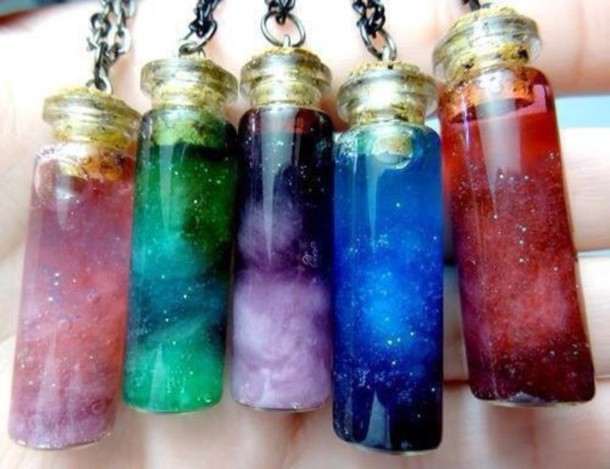 jewels colorful necklace