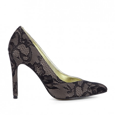 Sole Society - Pointed toe pumps - Dar - Stucco Black