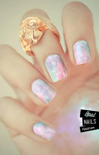 jewels ring darth vader pastel nail polish gold star wars tumblr