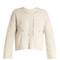 Grifin lace-up back cotton-blend sweater