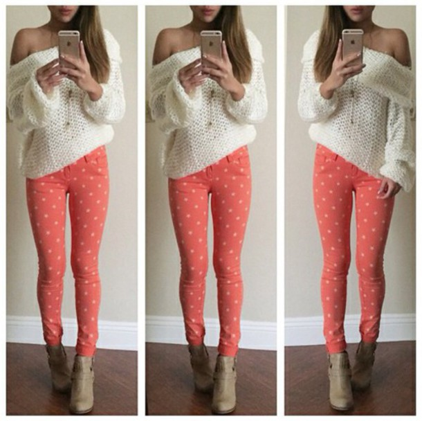 jeans blouse sweater