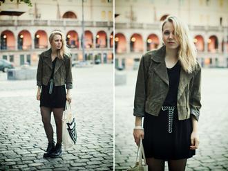 elenita jacket dress belt shoes