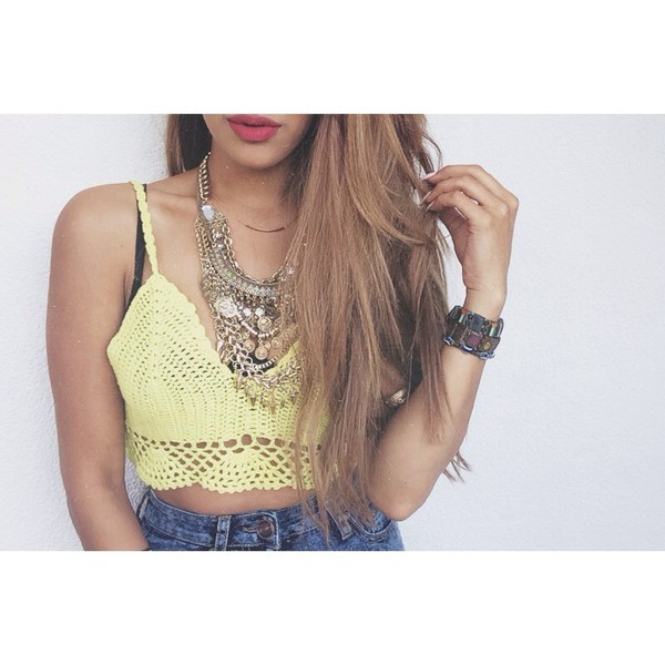 top crochet fashion summer outfits jewels