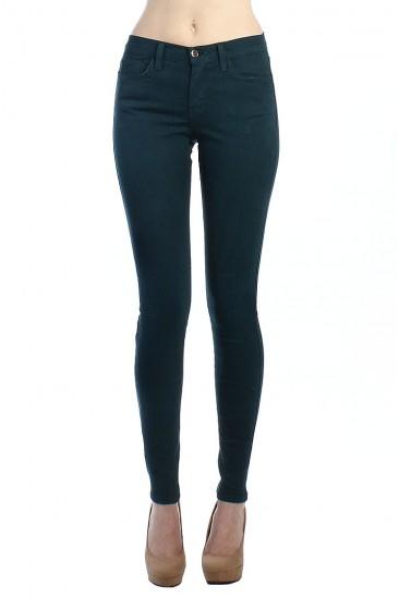 LoveMelrose.com From Harry & Molly | 5POCKET SKINNY JEANS-BLUE-FOREST - DENIM PANTS - BOTTOMS