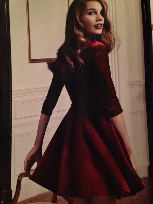 dress skater dress red dress velvet