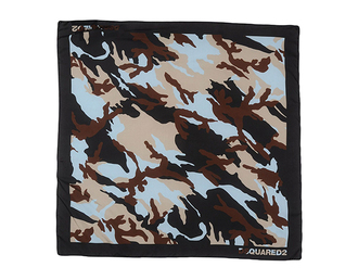scarf camouflage designer print silk scarf printed scarf spring accessory dsquared