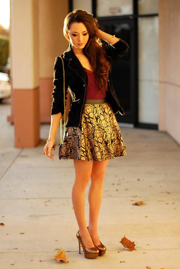 hapa time skirt jacket shoes bag