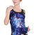 Scintillating Blue Galaxy Tank Top, Craze Clothing - Winnipegs Best Lingerie, Costume and Clubwear Store