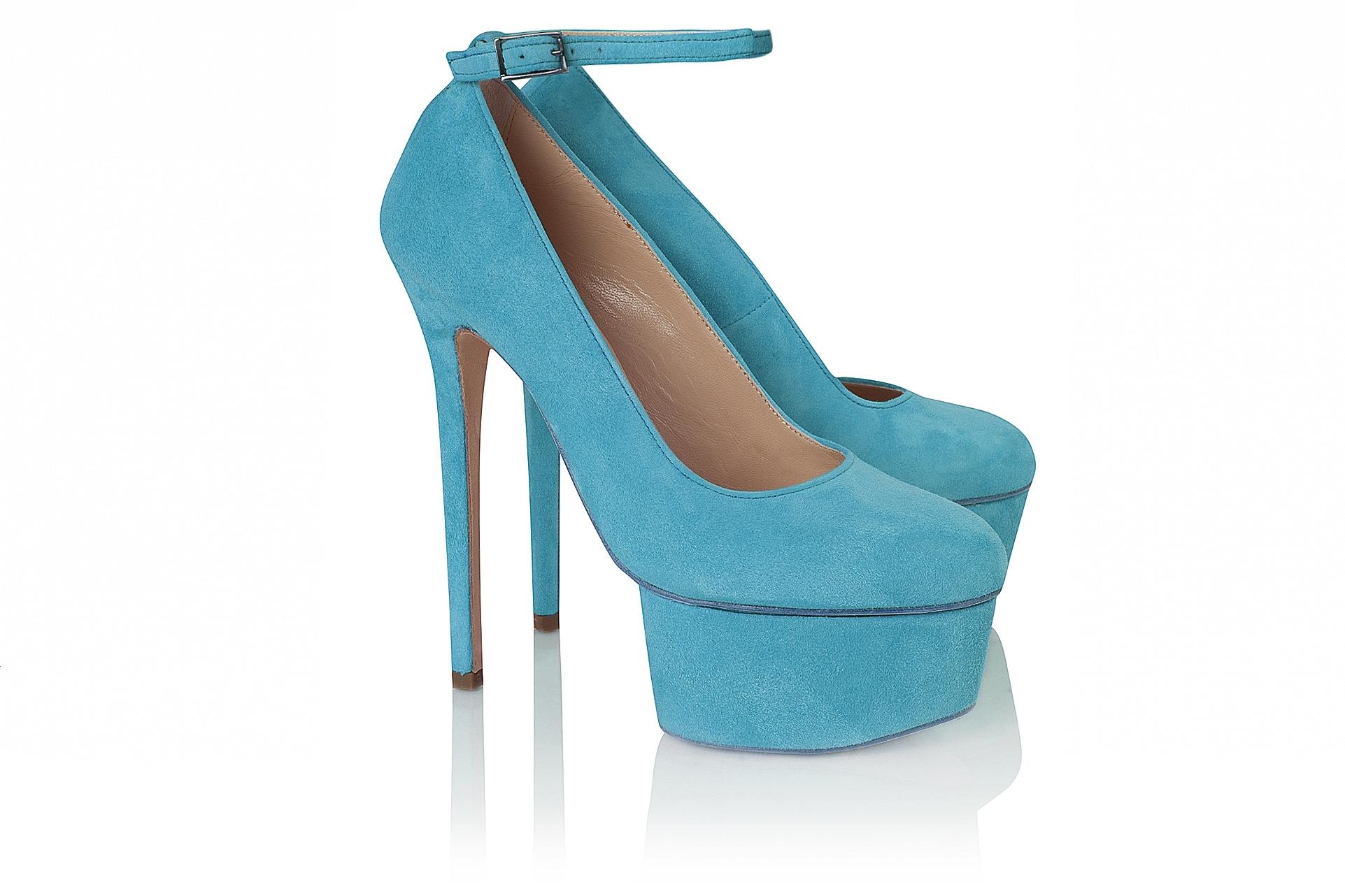 Ankle strap pump 6 inch - Shop - Olcay Gulsen