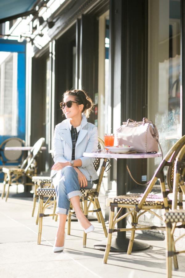 wendy's lookbook top jacket shoes bag jewels sunglasses