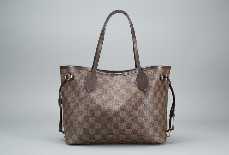 Louis Vuitton Damier Ebene Neverfull PM Bag | Portero Luxury
