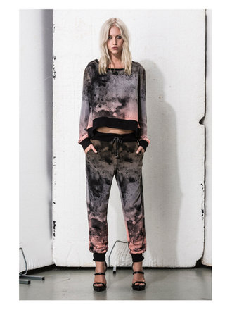 sweater pants religion ombre dip dyed summer summer outfits trendy