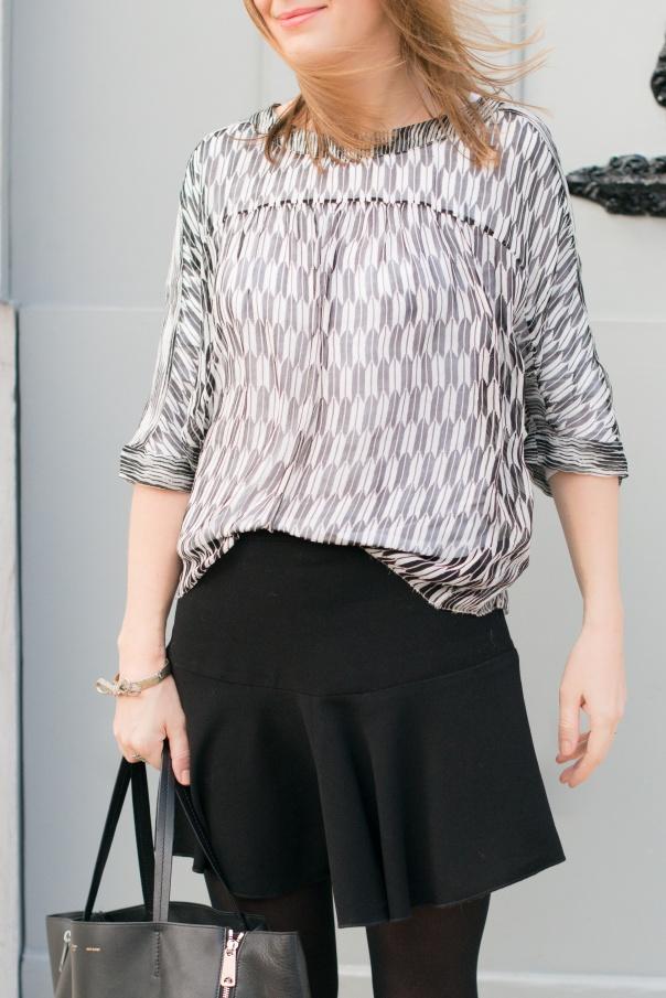 Ziane Etoile Isabel Marant 2014 Silk Blouse | Blog Mode - The Working Girl