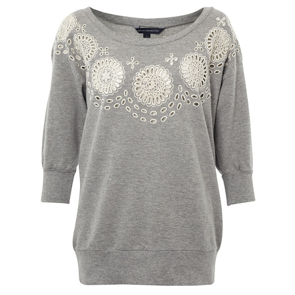 Solitude Sweatshirt Gray by French Connection | Fab.com