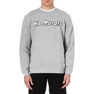 A QUESTION OF - No morals sweatshirt | Selfridges.com