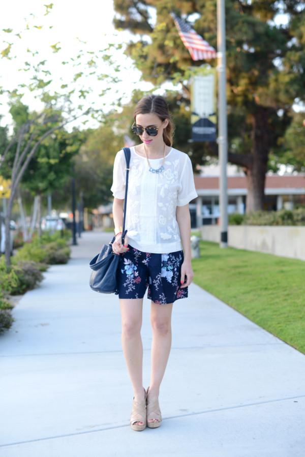 m loves m top shorts bag jewels shoes sunglasses