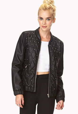 Retro Fresh Bomber Jacket | FOREVER21 - 2000066468