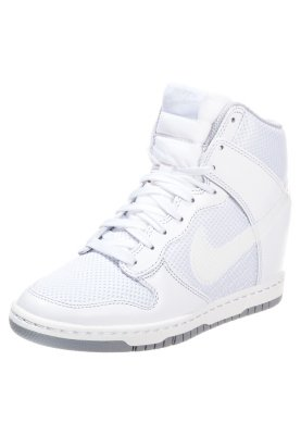 Nike Sportswear DUNK SKY - High-top trainers - white - Zalando.co.uk