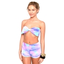 MARIALIA - Cotton Candy Bandeau and Swimmies Set