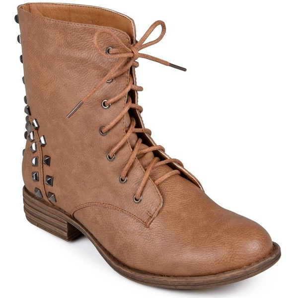 Journee Collection Alba Combat Boots Women - Polyvore