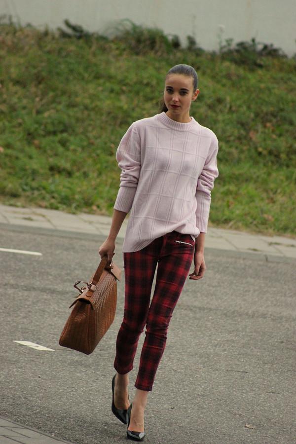 mode d'amour sweater pants bag shoes