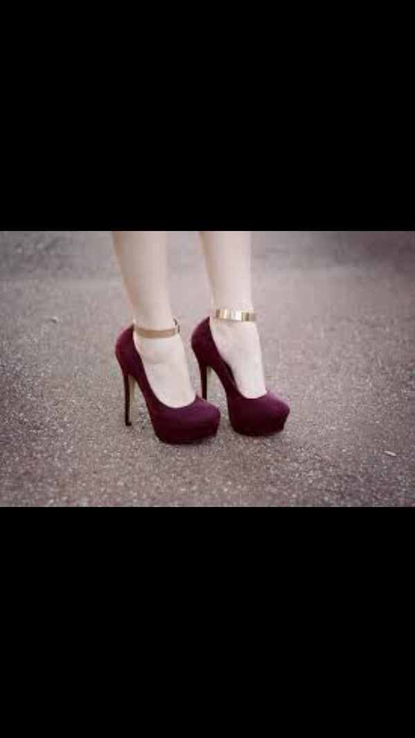 shoes pumps pretty burgundy gold classy elegant stilettos model high heels nike roshe run burgundy burgandy felt high heels pinterest prom shoes high heel pumps